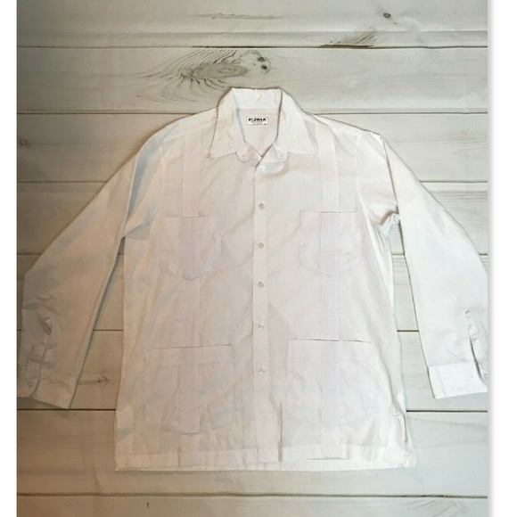 Mexican Wedding Shirt.Vtg Men S Mexican Wedding Shirt Long Sleeve White